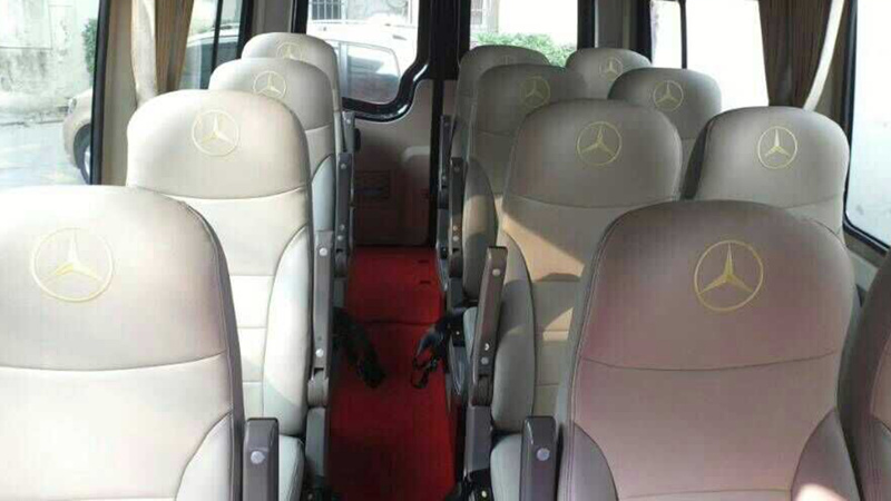 Mercedes Benz Sprinter, USD250/DAY, luxury 17-seat van